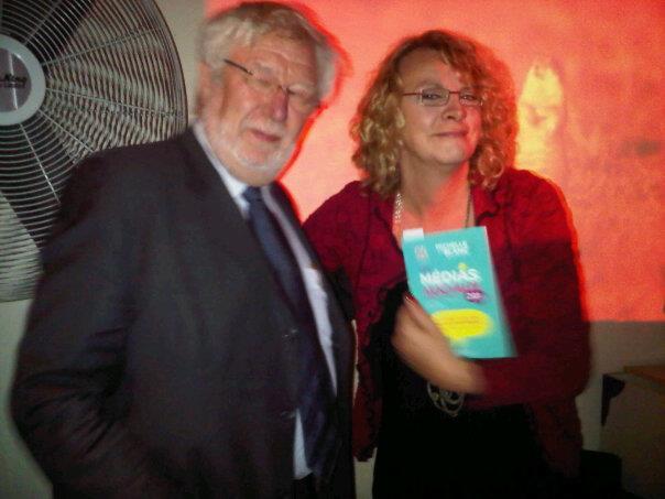Henri-François Gautrin et Michelle Blanc au Party de Les médias sociaux 201