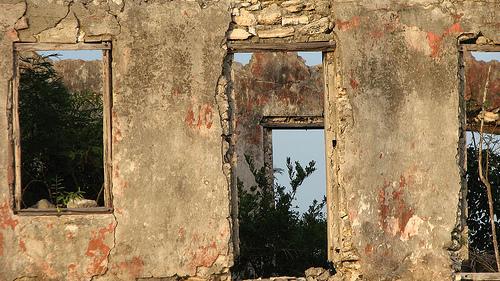 Maison en ruine à Long Island South Bahamas