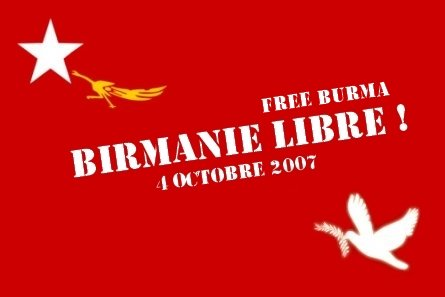 Libérez la Birmanie