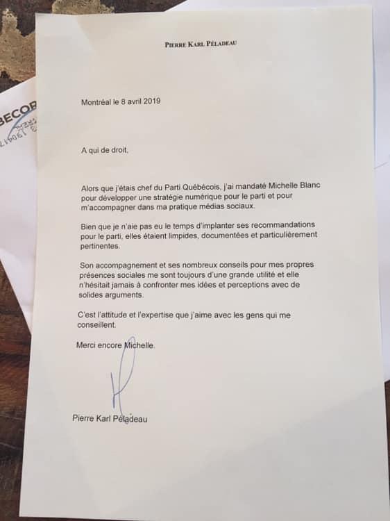 recommandation PierreKarl Péladeau