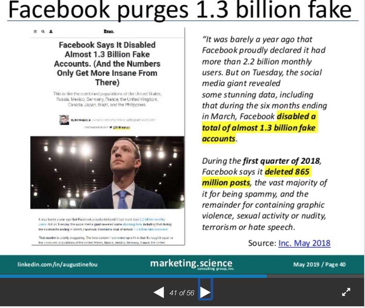 Facebook-purge