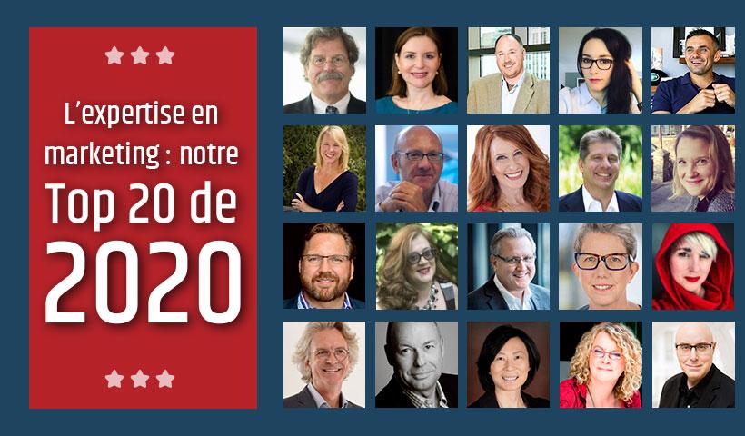 20 influenceurs B2B 2020 de ExoB2B